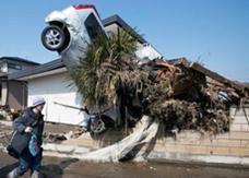 235 مليار دولار خسائر الزلزال والتسونامي في اليابان