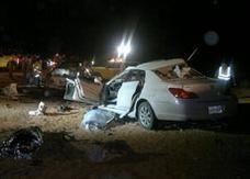 مصرع 10 أشخاص بحادث مروري مروع في السعودية