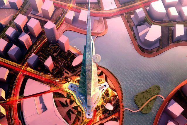 برج المملكة في جدة سيكون أطول وأقل تكلفة من برج خليفة بدبي