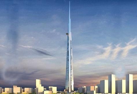 المزيد من صور برج المملكة.. أطول من أطول برج في العالم