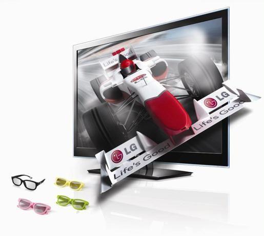 إل جي تطلق جيلاً جديداً من التلفزيونات ثلاثية الأبعاد