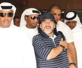 """الإماراتيون يلاحقون مارادونا و""""الوصل"""" يضع مدرجات إضافية لاستيعابهم"""