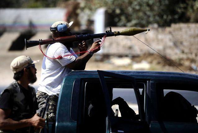 احتفالات الليبيين بدخول الثوار إلى العاصمة طرابلس