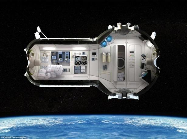 صور أول فندق تجاري في الفضاء