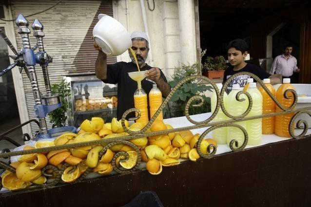 صور شهر رمضان في دمشق