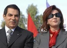 الرئيس التونسي المخلوع بصدد الإنفصال عن زوجته ليلى الطرابلسي