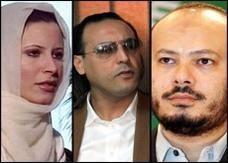 الجزائر تطالب أسرة القذافي بالابتعاد عن السياسة