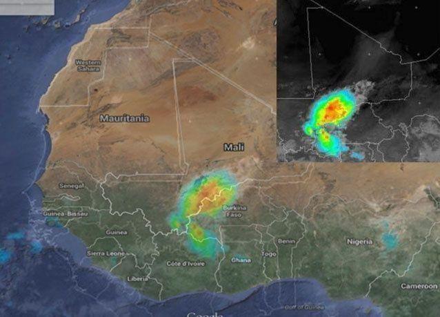 عاصفة قد تكون وراء تحطم الطائرة الجزائرية شمال مالي