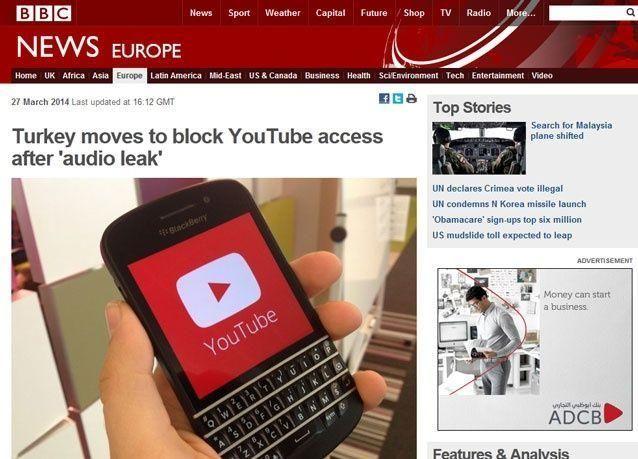لماذا تخفي بي بي سي خبر حجب يوتيوب في تركيا وتتجنب ذكر أسبابه