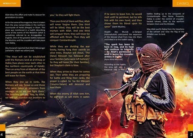 بالصور: مجلة داعش الجديدة للتجنيد أم بروباغندا؟