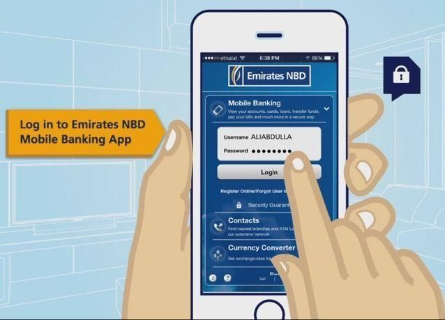 إطلاق خدمة تحويل الاموال بين زبائن بنك الإمارات دبي الوطني