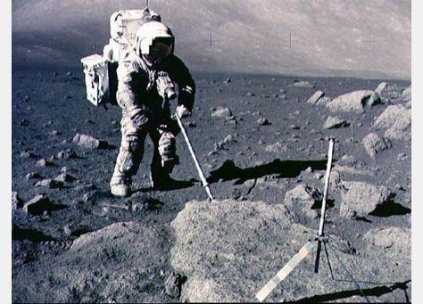 بحث يظهر أن القمر تكون من اصطدام كوكب بالأرض