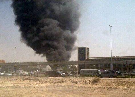دبي : اندلاع حريق قرب مول الإمارات