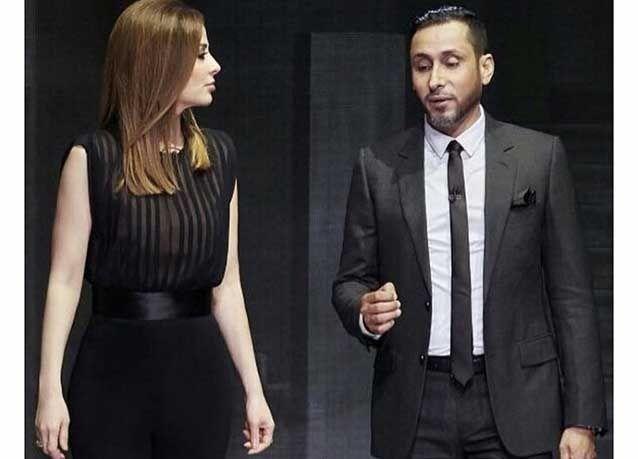 """بالصور : سامي الجابر يخضع """"لاستجواب"""" وفاء الكيلاني في """"المتاهة"""" فمن سيسجل الأهداف في حلقة اليوم؟"""