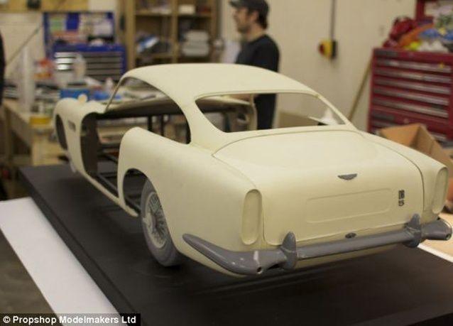 بالصور: صناعة سيارة جيمس بوند تمت بطابعات ثلاثية الأبعاد