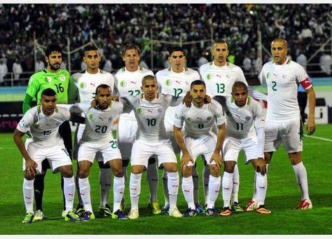 منتخب الجزائر يصل البرازيل لخوض نهائيات كأس العالم