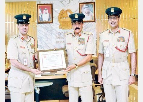 اكاديمية شرطة بولاية أمريكية تستعين بخبرات شرطة دبي