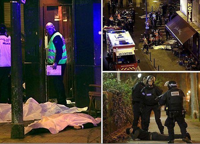 فرنسا تعلن حالة الطواريء بعد مقتل مالايقل عن 120 شخصا في هجمات بباريس