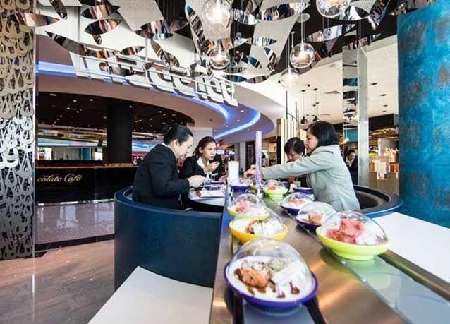 """بالصور : جولة داخل مبنى """"الكونكورس دي"""" في مطار دبي الدولي"""