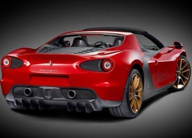 """سيارة """"فيراري سيرجيو"""" الأولى تصل إلى الإمارات"""