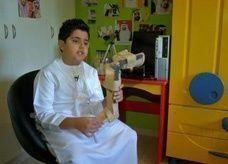 فيديو: طفل إماراتي بمرتبة مخترع صغير
