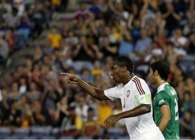 الإمارات تفوز وتواصل ملاحقة السعودية بتصفيات كأس العالم