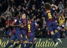 برشلونة يتعادل 2-2 مع ملقة في كأس ملك اسبانيا