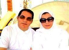 """أول صورة لـ""""بن علي"""" وزوجته في السعودية.. تلتقطها صحيفة فرنسية"""