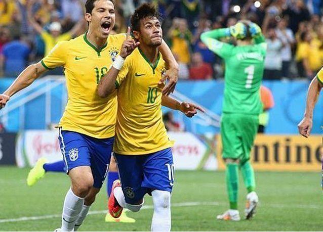 البرازيل تفوز على كرواتيا بـ  3-1  في أول مباراة لكأس العالم 2014
