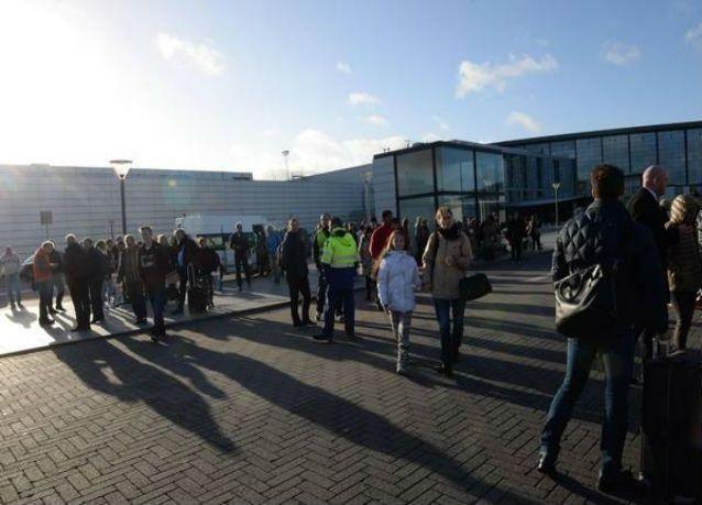 """إخلاء صالة ركاب في مطار كوبنهاجن بسبب حقيبة """"مريبة"""""""