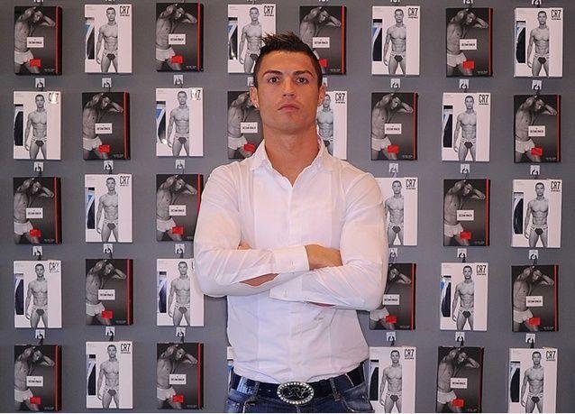 """إطلاق مجموعة الملابس الرجالية المرتقبة CR7 للنجم """"كريستيانو رونالدو"""" في دبي"""