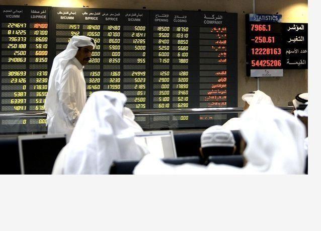 قطر تقود انخفاض الأسهم الخليجية