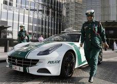 """ضم """"بوجاتي"""" أسرع سيارة يسمح القانون بسيرها في الشوارع إلى أسطول شرطة دبي"""