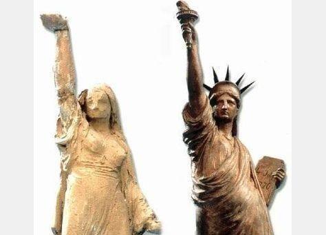 فلاحة مصرية هي مصدر إلهام امرأة تمثال الحرية في نيويورك