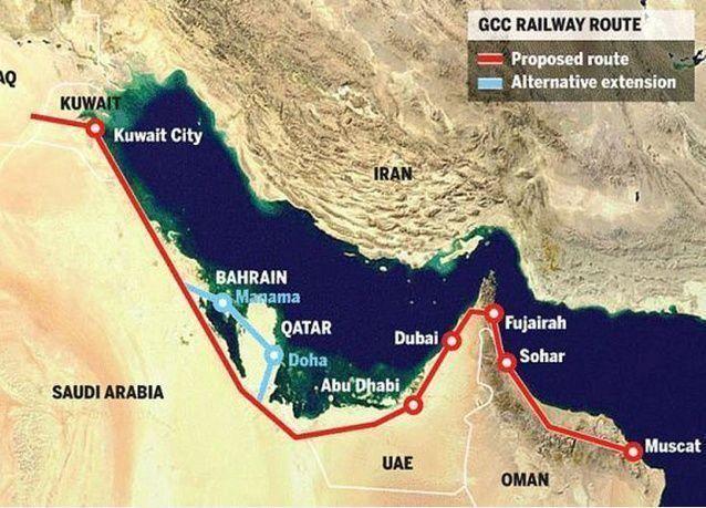مشروع سكة حديد لربط السعودية بالبحرين ضمن القطار الخليجي