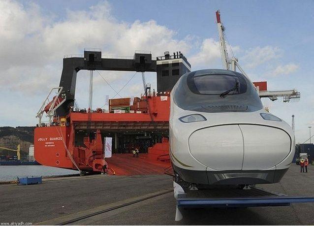 التشغيل التجريبي لخط جدة - مكة المكرمة في مشروع قطار الحرمين السريع بعد 17 شهراً