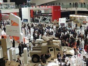 شركات الأسلحة تطمع لابرام صفقات في أكبر معرض دفاعي بالشرق الأوسط