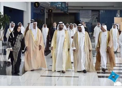 محمد بن راشد يشهد اطلاق استراتيجية وكالة الامارات للفضاء