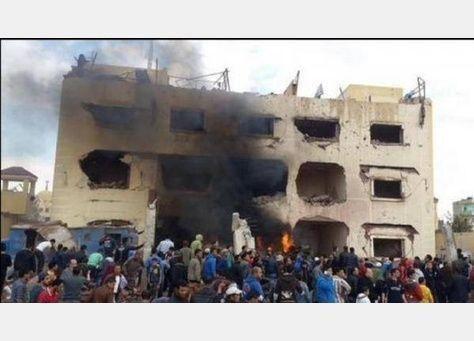 مصر:انفجاران عند فندق يقيم به قضاة في العريش