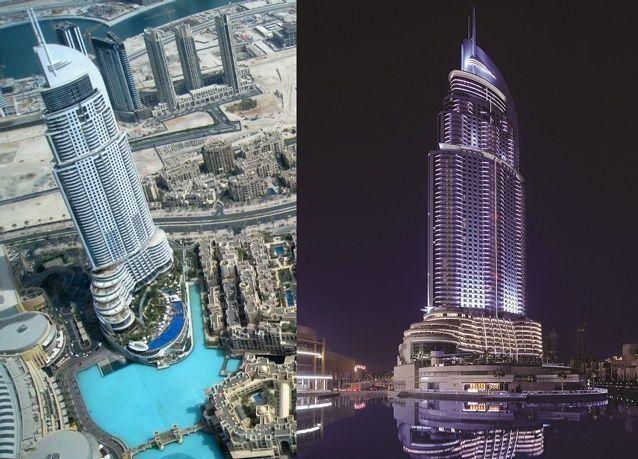 """""""إعمار"""" تعمل لإعادة افتتاح فندق """"العنوان وسط مدينة دبي"""" خلال زمن قياسي"""
