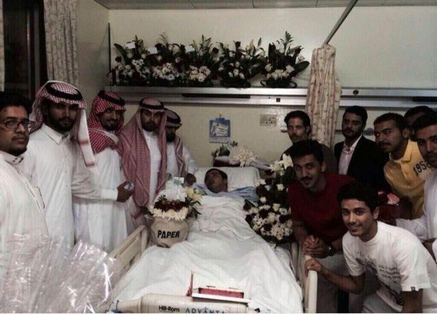 الوليد بن طلال يتبرع بنصف مليون ريال لمريض تويتر الذي تخلى أهله عنه