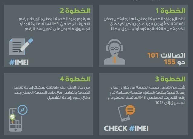 الإمارات: حجب الهواتف الجوالة المسروقة خلال 48 ساعة