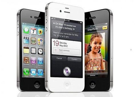 """أبل تكشف هاتفها الجديد باسم """"آي فون 4S"""" وليس """"آي فون 5"""""""