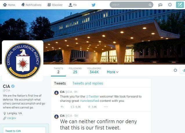 المخابرات الأمريكية تراقب العالم من خلال فيسبوك وتويتر