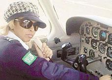 طيارة سعودية تترشح سفيرة لشركة طيران عالمية في أمريكا