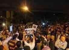 اعتصام من 'الحراك الشعبي' في الطفيلة وسط العاصمة الأردنية يهتف ضد الملك والملكية