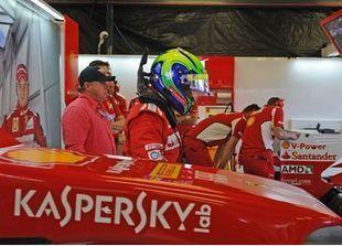 كاسبرسكي تنضم لرعاة فريق فيراري لسباقات الفورمولا واحد
