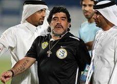 مارادونا يطلب 17 مليون دولار من الوصل الإماراتي