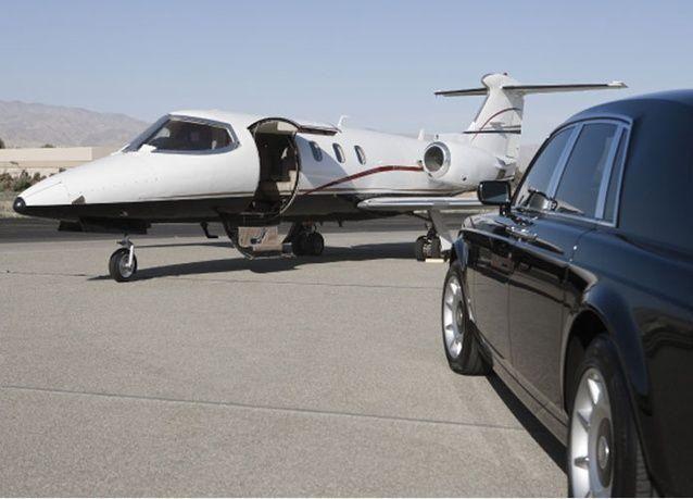 """إلغاء عقد شركة """"ميزة"""" التي كانت تخدم سابقاً الأسرة المالكة بالمطارات السعودية"""