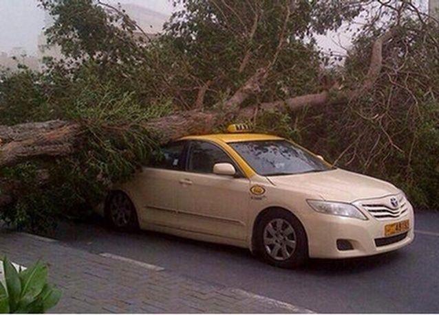 دبي: تصادم 15 مركبة في حادث تتابعي
